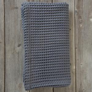 Πετσέτα Θαλάσσης-Παρεό 90x160cm Nima Shore Dark Gray Βαμβακερή