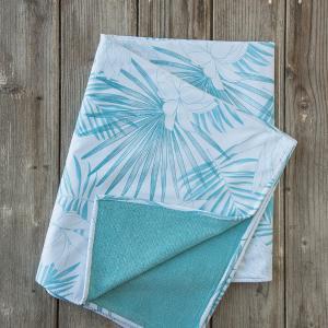 Πετσέτα Θαλάσσης 90x150cm Nima Fougere Βαμβακερή