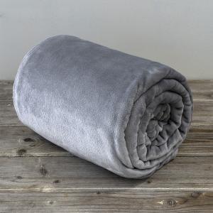 Κουβέρτα Μονή Fleece 150x220cm Kocoon Meleg Gray Πολυέστερας