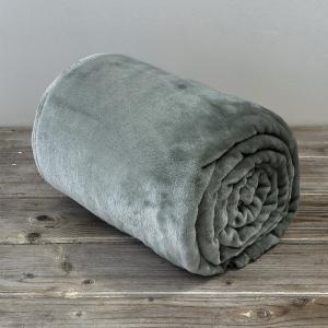 Κουβέρτα Μονή Fleece 150x220cm Kocoon Meleg Dark Mint Πολυέστερας