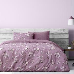 Παπλωματοθήκη Μονή Σετ 165x245cm Kocoon Romance Pink Βαμβάκι-Πολυεστέρας