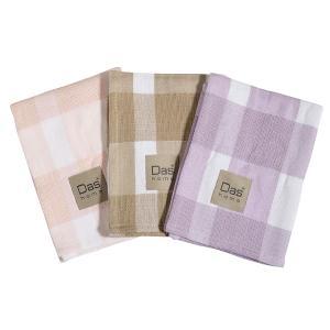 Πετσέτες Κουζίνας 3τμχ 50x70cm Das Home Kitchen 0606 Βαμβακερές