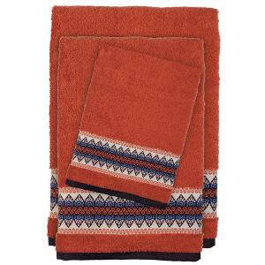 Πετσέτες Σετ 3 τμχ Das Home Happy Line 0394 Κεραμυδί