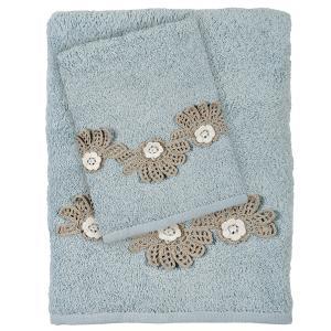 Πετσέτες Σετ 3 Tμχ Das Home Daily 0407 Μπλε