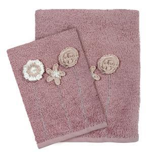 Πετσέτες Σετ 3 Tμχ Das Home Daily 0408 Nude