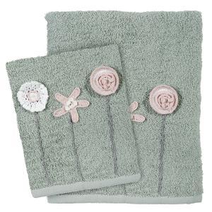 Πετσέτες Σετ 3 Tμχ Das Home Daily 0409 Μέντα