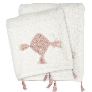 Πετσέτες Σετ 3 Tμχ Das Home Daily 0410 Λευκό