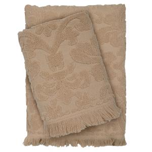 Πετσέτες Σετ 3 τμχ Das Home Happy Line 0421 Μπέζ