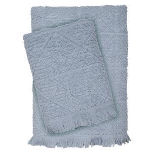 Πετσέτες Σετ 3 τμχ Das Home Happy Line 0423 Γκρι