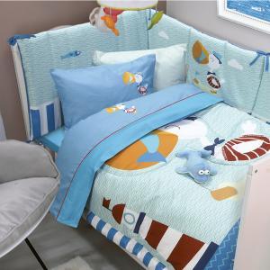 Σεντόνια Κούνιας Σετ 120x160cm Das Home Smile 6582