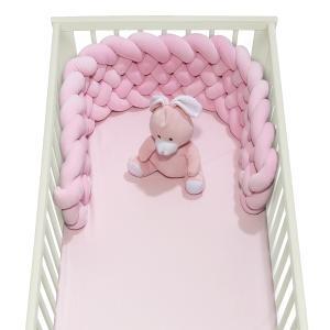 Πάντα Κούνιας Πλεξούδα 25x150cm Das Home Baby Relax 6584