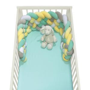 Πάντα Κούνιας Πλεξούδα 25x150cm Das Home Baby Relax 6586