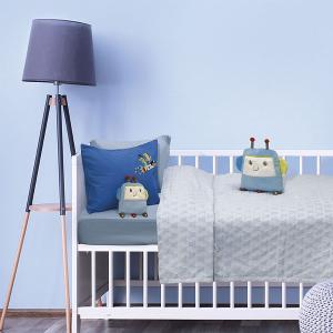 Κουβέρτα Fleece Κούνιας 110x150cm Das Kid Relax 6466