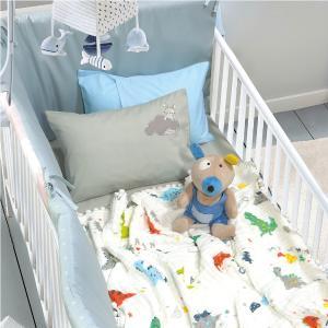 Κουβέρτα Μουσελίνα Κούνιας 110x140cm Das Home Relax 6588