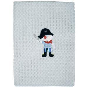 Κουβέρτα Πικέ Κούνιας 110x150cm Das Home Dream Embroidery 6510