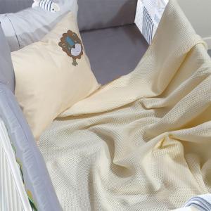 Κουβέρτα Πικέ Κούνιας 110x150cm Das Kid Relax 6543