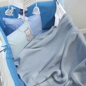 Κουβέρτα Πικέ Κούνιας 110x150cm Das Kid Relax 6545
