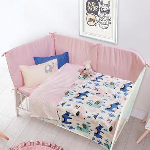 Κουβέρτα Fleece Κούνιας 110x150cm Das Kid Relax 6549