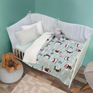 Κουβέρτα Fleece Κούνιας 110x150cm Das Kid Relax 6551