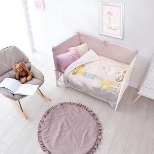 Κουβέρτα Fleece Κούνιας 110x140cm Das Kid Relax 6556