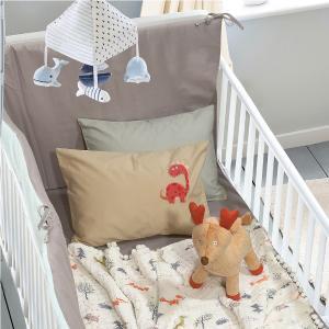 Κουβέρτα Μουσελίνα Κούνιας 110x140cm Das Home Relax 6589