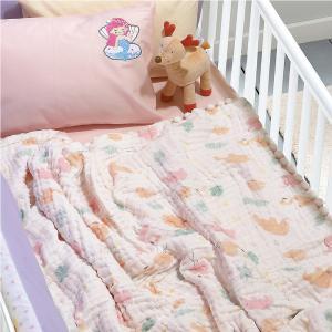 Κουβέρτα Μουσελίνα Κούνιας 110x140cm Das Home Relax 6590