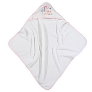 Βρεφική Κάπα 75x75cm Das Home Baby Smile Embroidery 6572