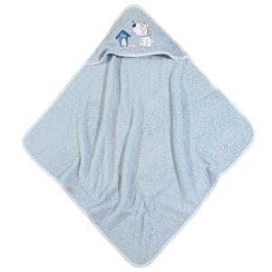 Βρεφική Κάπα 75x75cm Das Home Baby Smile Embroidery 6575
