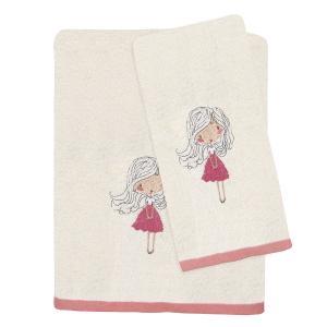 Πετσέτες Παιδικές Σετ 2τεμ Das Kids Fun 4728 Βαμβακερές
