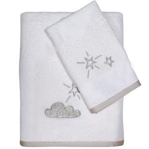 Πετσέτες Παιδικές Σετ 2 Τεμάχια Das Kids Fun 4745 Βαμβακερές