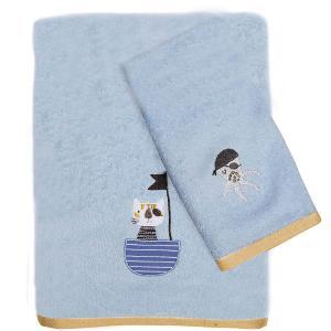 Πετσέτες Παιδικές Σετ 2τεμ Das Kids Fun 4748 Βαμβακερές
