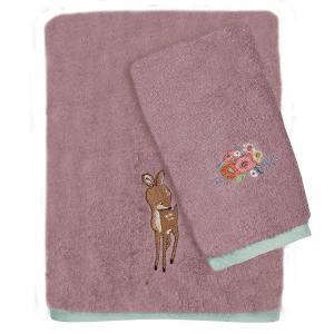 Πετσέτες Παιδικές Σετ 2τεμ Das Kids Fun 4756 Βαμβακερές