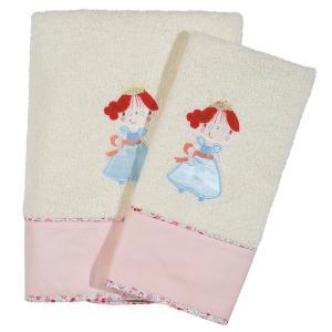 Πετσέτες Βρεφικές Σετ 2τεμ Κεντητές Das Home Baby  Dream Embroidery 6511