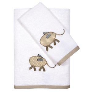 Πετσέτες Βρεφικές Σετ 2τεμ Κεντητές Das Home Baby Embroidery 6568