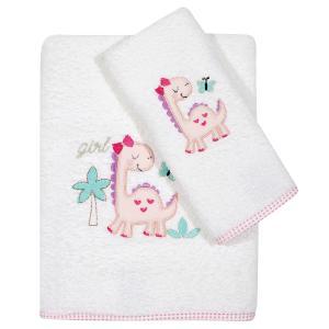 Πετσέτες Βρεφικές Σετ 2τεμ Κεντητές Das Home Baby Embroidery 6572