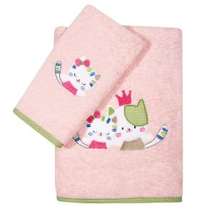 Πετσέτες Βρεφικές Σετ 2τεμ Κεντητές Das Home Baby  Dream Embroidery 6573