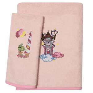 Πετσέτες Βρεφικές Σετ 2τεμ Κεντητές Das Home Baby  Dream Embroidery 6577