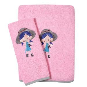 Πετσέτες Βρεφικές Σετ 2τεμ Κεντητές Das Home Baby  Dream Embroidery 6580