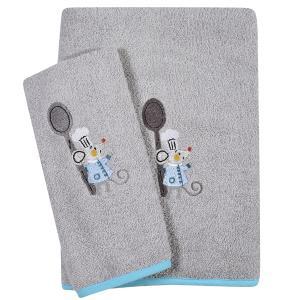 Πετσέτες Βρεφικές Σετ 2τεμ Κεντητές Das Home Baby  Dream Embroidery 6581