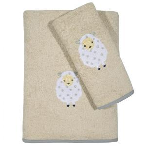 Πετσέτες Παιδικές Σετ 2τεμ Das Kids Fun 6595 Βαμβακερές