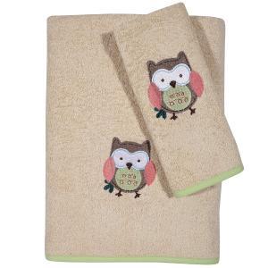 Πετσέτες Παιδικές Σετ 2τεμ Das Kids Fun 6597 Βαμβακερές