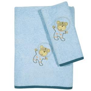 Πετσέτες Παιδικές Σετ 2τεμ Das Kids Fun 6598 Βαμβακερές