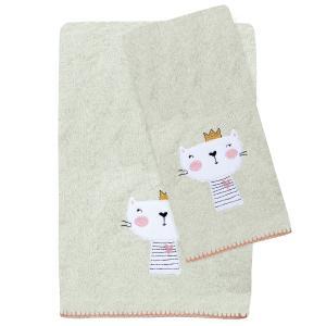 Πετσέτες Παιδικές Σετ 2τεμ Das Kids Fun 6599 Βαμβακερές