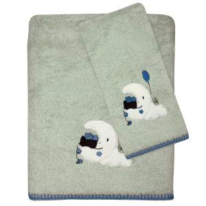 Πετσέτες Παιδικές Σετ 2τεμ Das Kids Fun 6602 Βαμβακερές