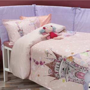 Σεντόνια Κούνιας Σετ 125x170cm Das Home Smile 6577