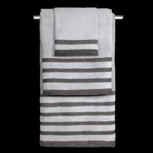 Πετσέτες Σετ 3 τμχ Guy Laroche Bellina Grey