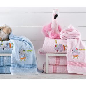 Πετσέτες Παιδικές Σετ 2τμχ Rythmos Bodi Bear