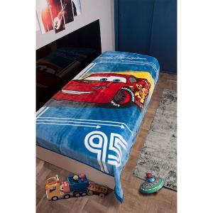 Κουβέρτα Παιδική Βελουτέ Disney 160X220cm Cars 095