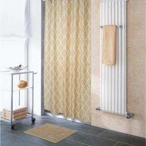 Κουρτίνα Μπάνιου180x200cm + Πατάκι 50x70cm Σετ Corner Cubia Polyester