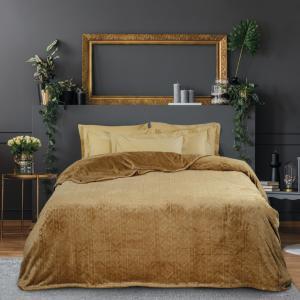 Κουβέρτα Fleece Μονή 160x220cm Das Home 0427